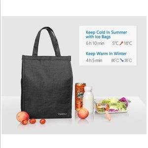 Handbags - Insulated Lunch Bag Large Waterproof New